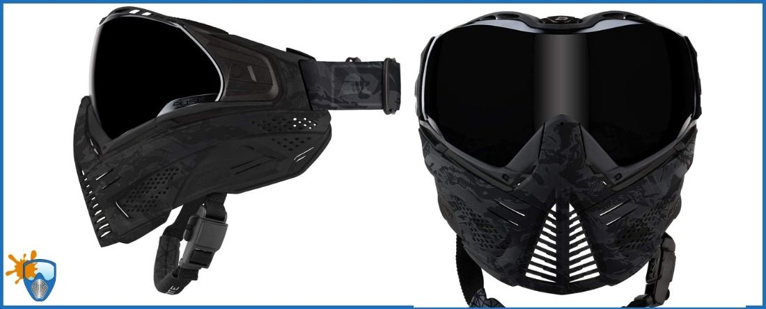 Push Unite Paintball Goggles Mask Review