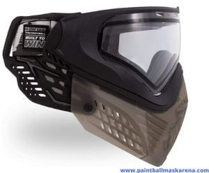 Virtue VIO thermal lens paintball mask