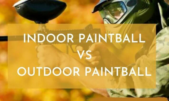 Indoor paintball field