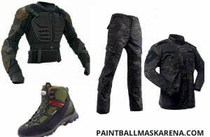 Paintball safety cloths