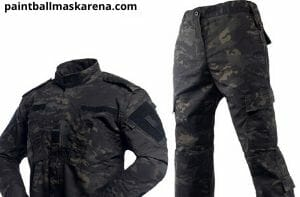 Clothing of paintballing cost
