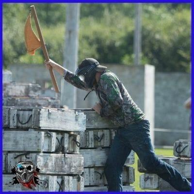 Capture the Flag paintball