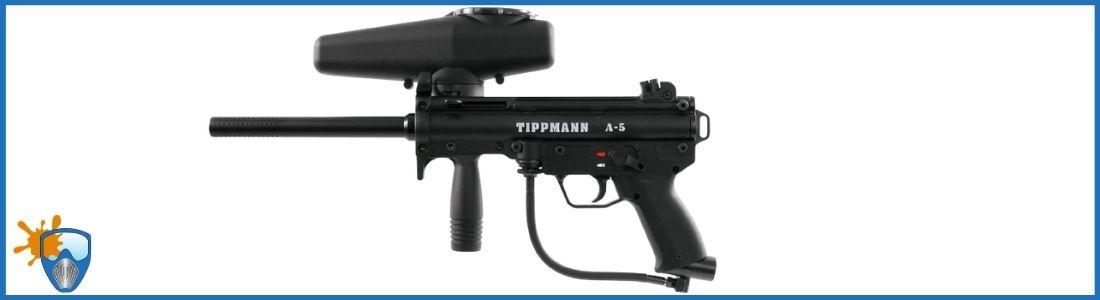 Tippmann A-5 0.68 Caliber Paintball gun Review