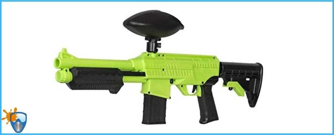 JT SplatMaster Z18 .50 CAL Paintball Marker with 200 round Hopper Review
