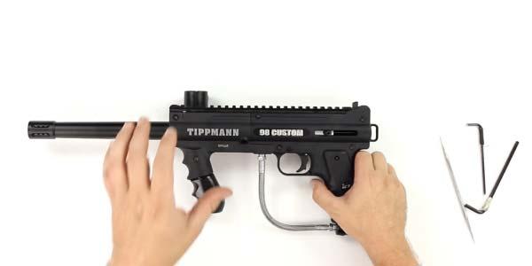 Assemble the Paintball Gun