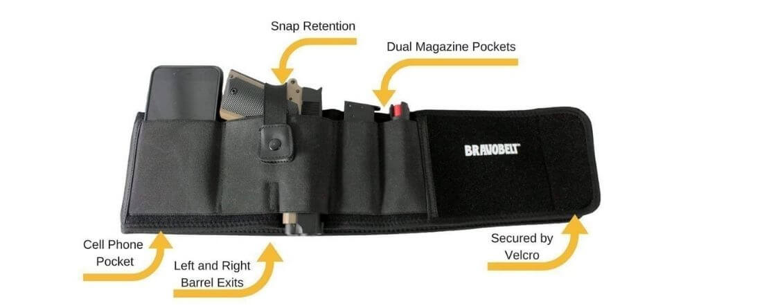 Bravobelt Belly Band Holster for Concealed Carry Review