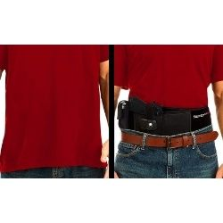 Concealment of holster