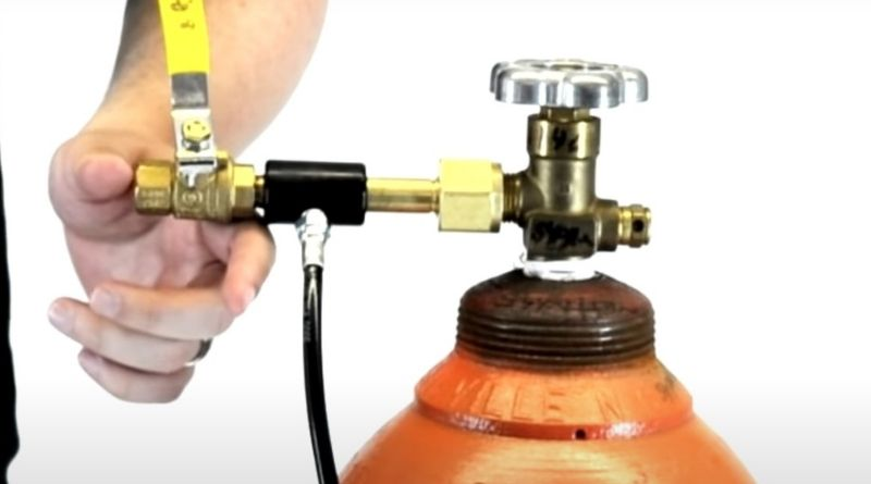 Connection of Co2 tank