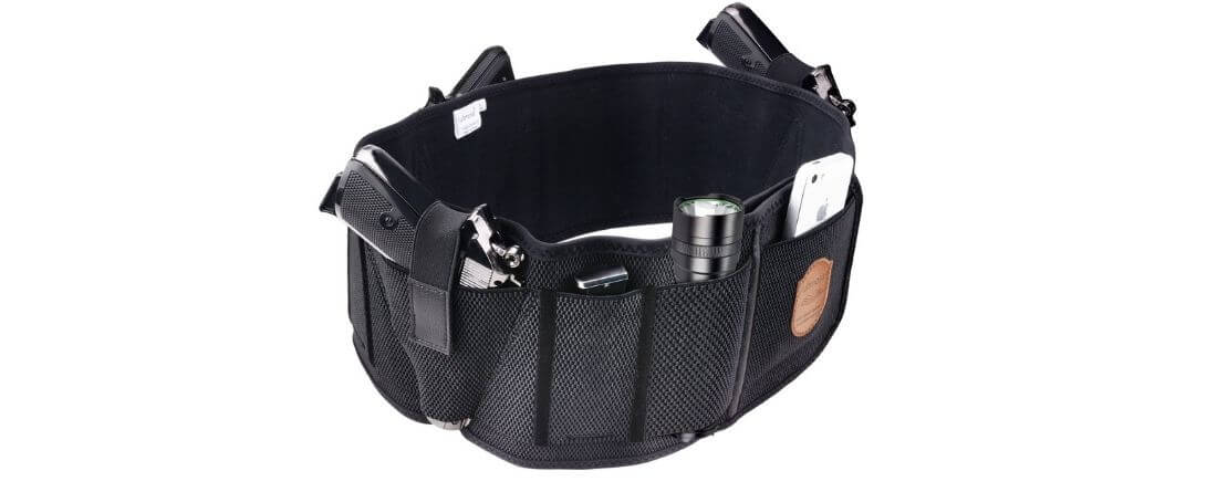 Fullmosa Concealment Carry Belly Band Holster