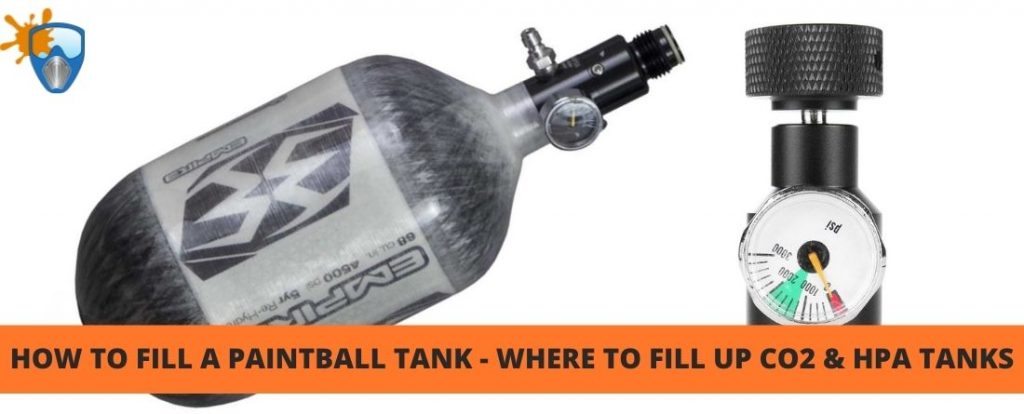 How To Fill a Paintball Tank